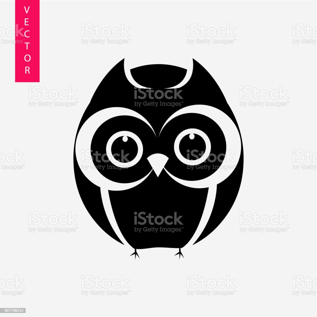 Owl Vector Icon Stock Illustration - Download Image Now