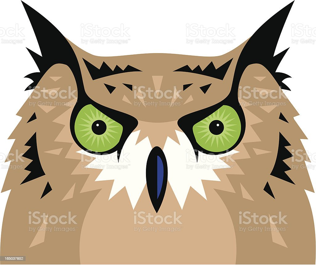 Owl royalty-free owl stock vector art & more images of animal