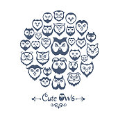 Owls Collage