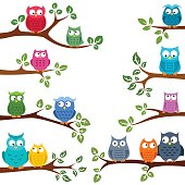 istock Owls in love 827040466
