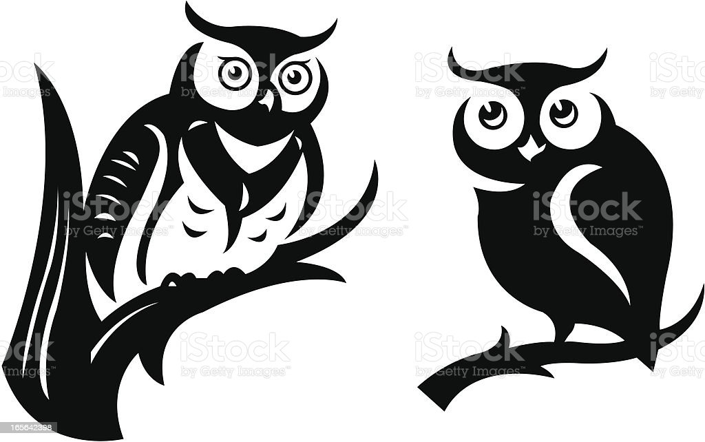 Owls royalty-free owls stock vector art & more images of animal wildlife