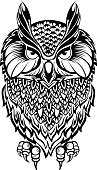 Owl.Tattoo owl