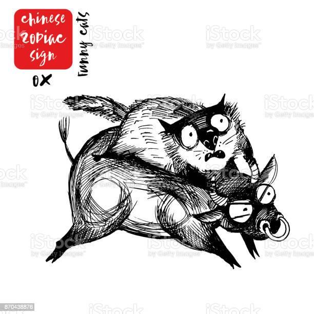 Ox chinese zodiac sign vector id870438876?b=1&k=6&m=870438876&s=612x612&h=pejgfs1bgvdjw64k48 gngqntdl3rcmrwhwl1ge9aqa=