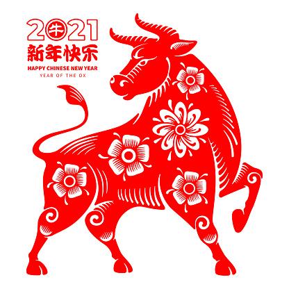 Ox Chinese Zodiac Symbol