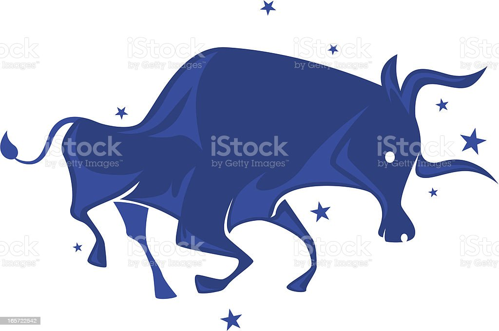 ox symbol vector art illustration