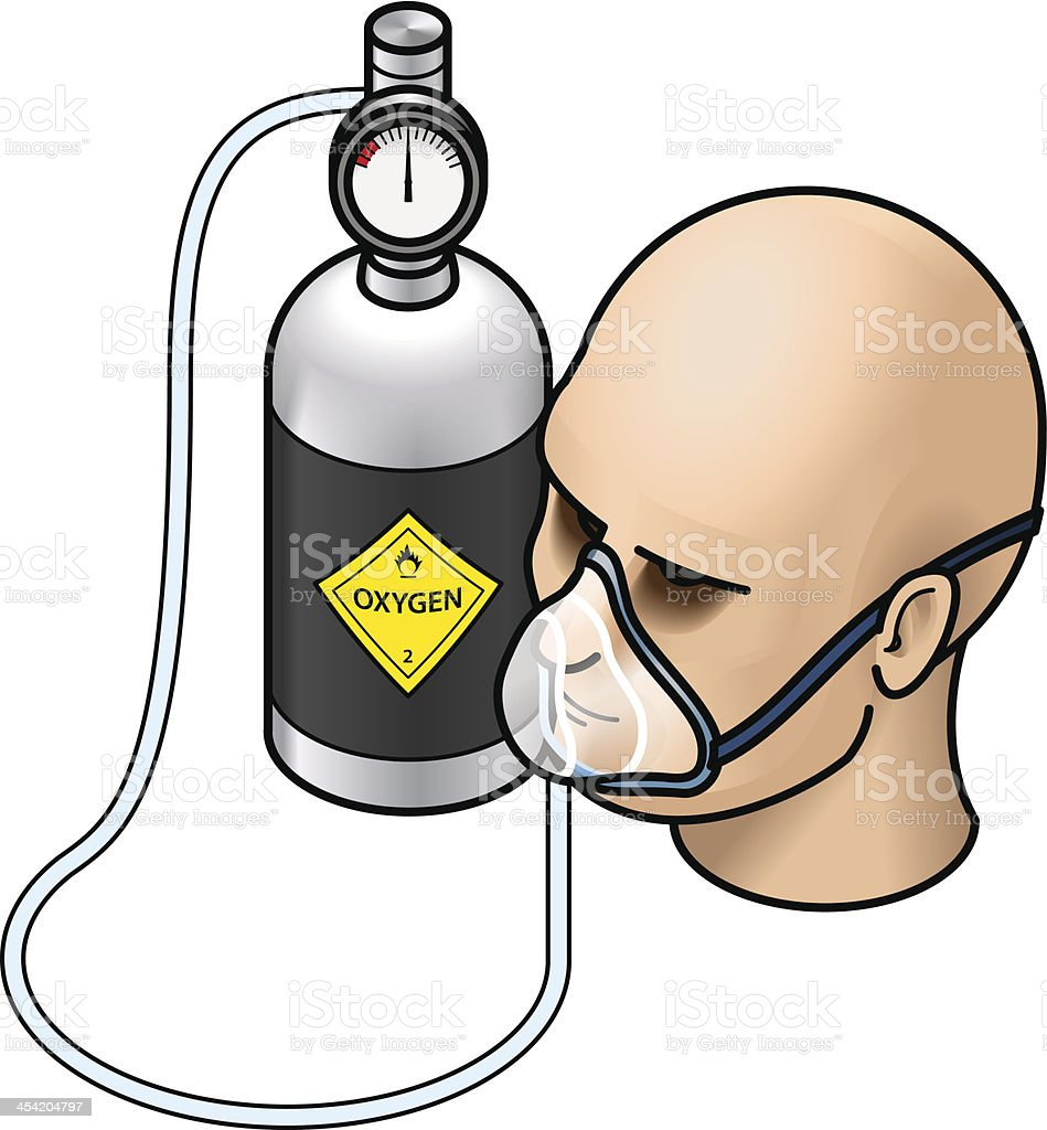 Cartoon Oxygen Tank