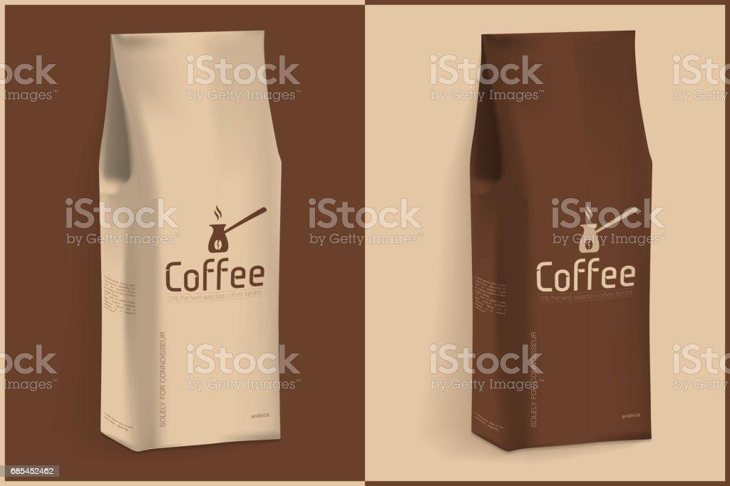 Pack of Coffee pack of coffee - arte vetorial de stock e mais imagens de bebida royalty-free