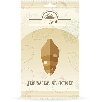 Pack of Jerusalem Artichoke seeds icon