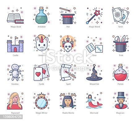 Beware, some cuteness overdose is coming your way. We have got some cute fairy tales and magic icons here today. You can use it in your web design, print media or any other project as per your requirements. Download, download and be happy!