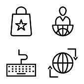 Pack of Science and Education Line Icons  Pack of Science and Education Line Icons