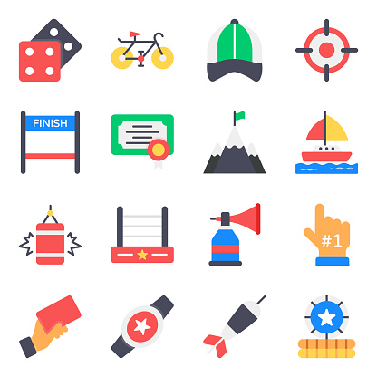 Pack of Types of Sports Icons