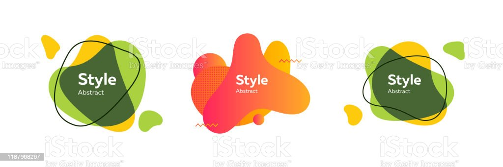 Pack Of Vector Abstract Illustrations Simple Graphic Design Stock Illustration Download Image Now Istock