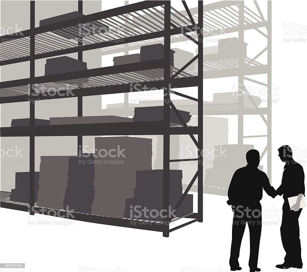 Package Deals Vector Silhouette royalty-free package deals vector silhouette stock vector art & more images of adult
