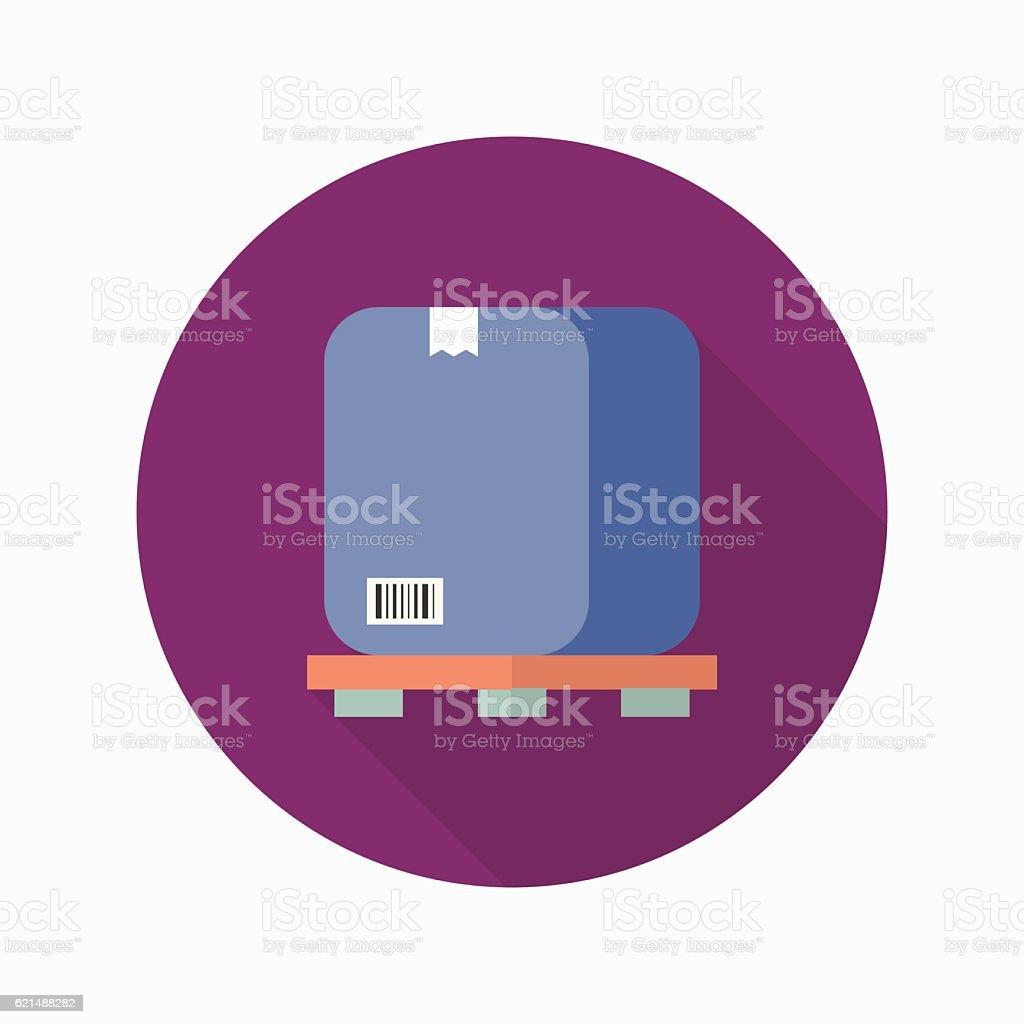 Il pacchetto icona il pacchetto icona - immagini vettoriali stock e altre immagini di cartone - contenitore royalty-free