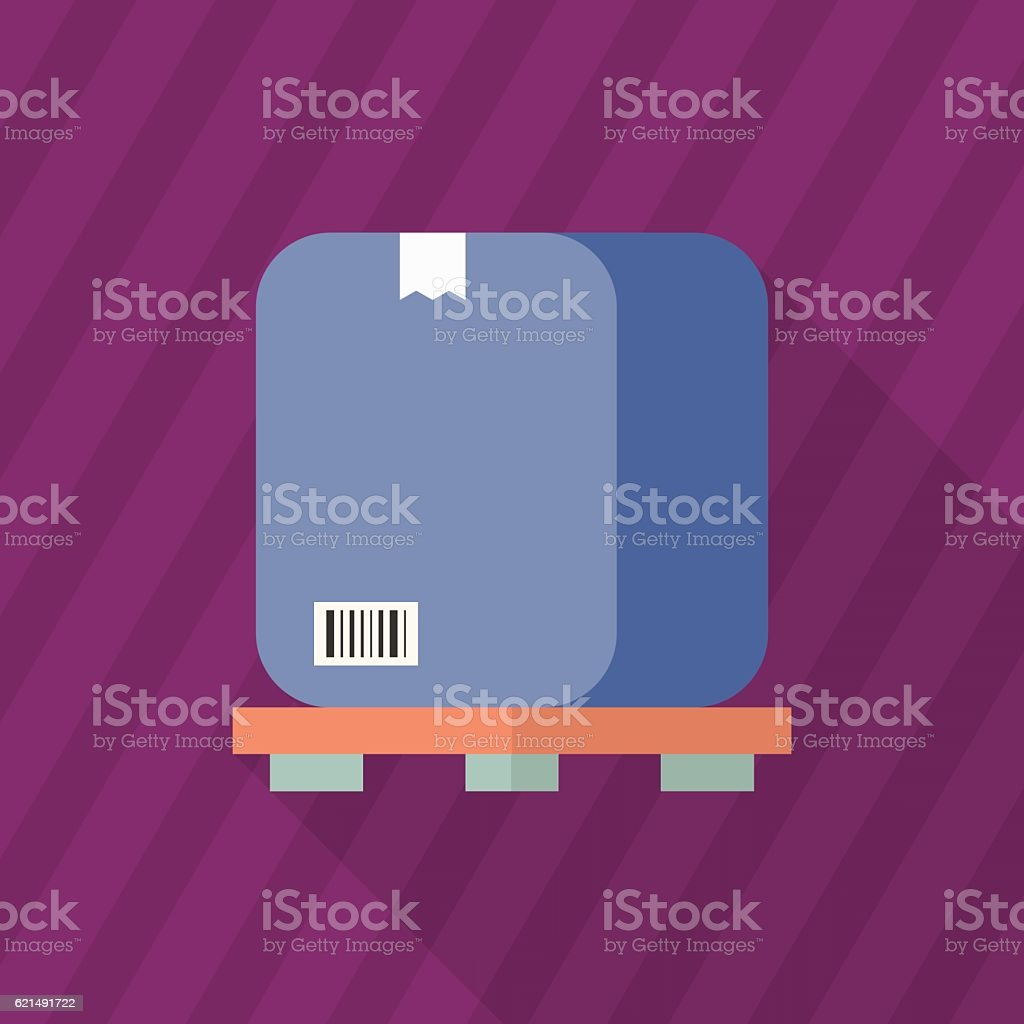 Package-Symbol Lizenzfreies packagesymbol stock vektor art und mehr bilder von auslieferungslager