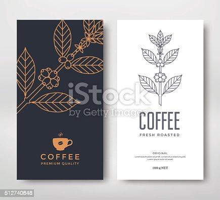 istock Packaging design coffee 512740848