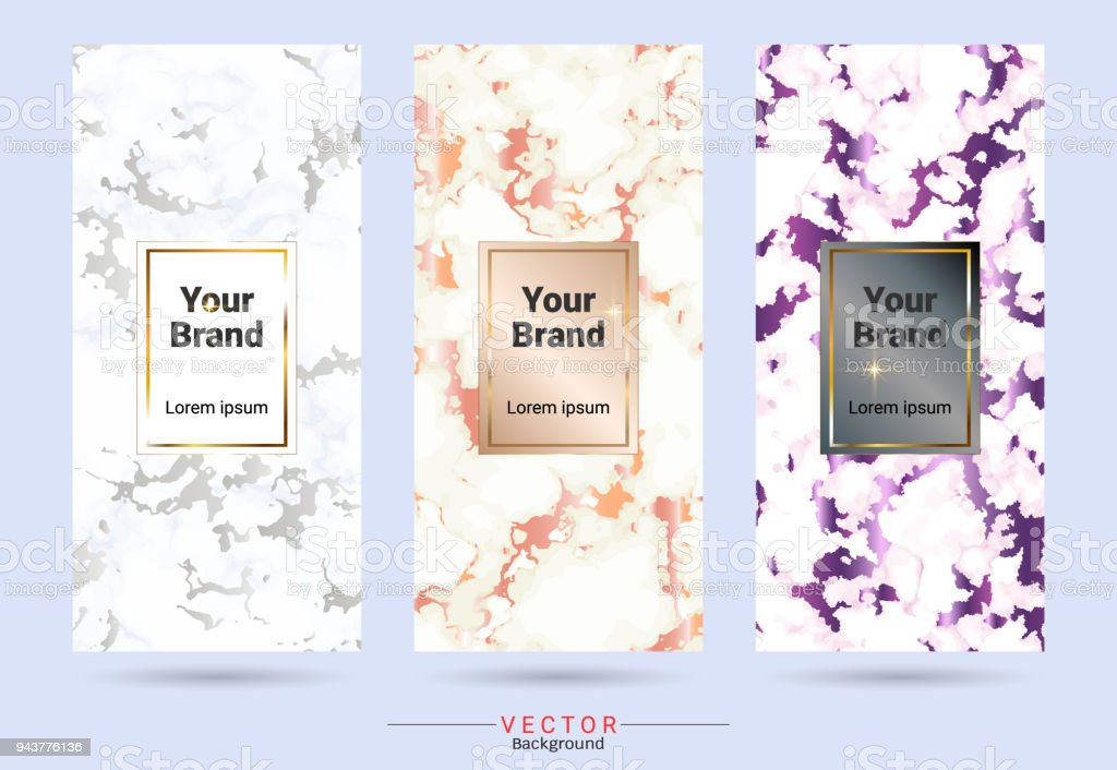 Packaging Label Brands Design Templates Suitable For Luxury
