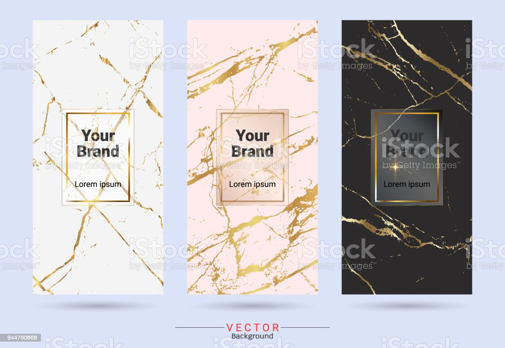 packaging product design label and stickers templates suitable for