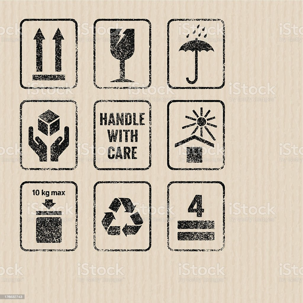 Packaging signs