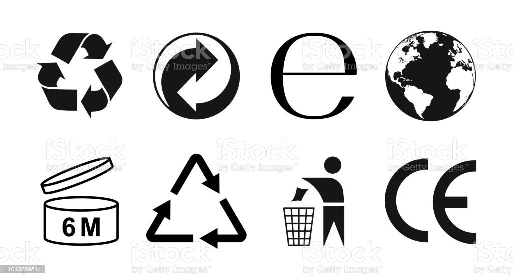 Packaging Symbols Set Packaging Icons Vector Illustraion Stock Illustration  - Download Image Now