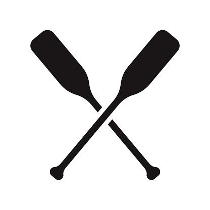 Paddle Sports Glyph Icon