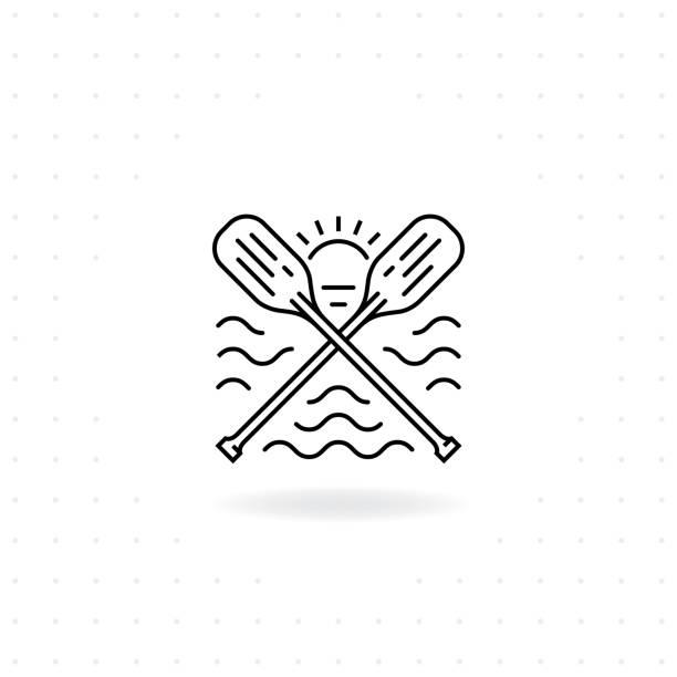 Paddel-Symbol – Vektorgrafik