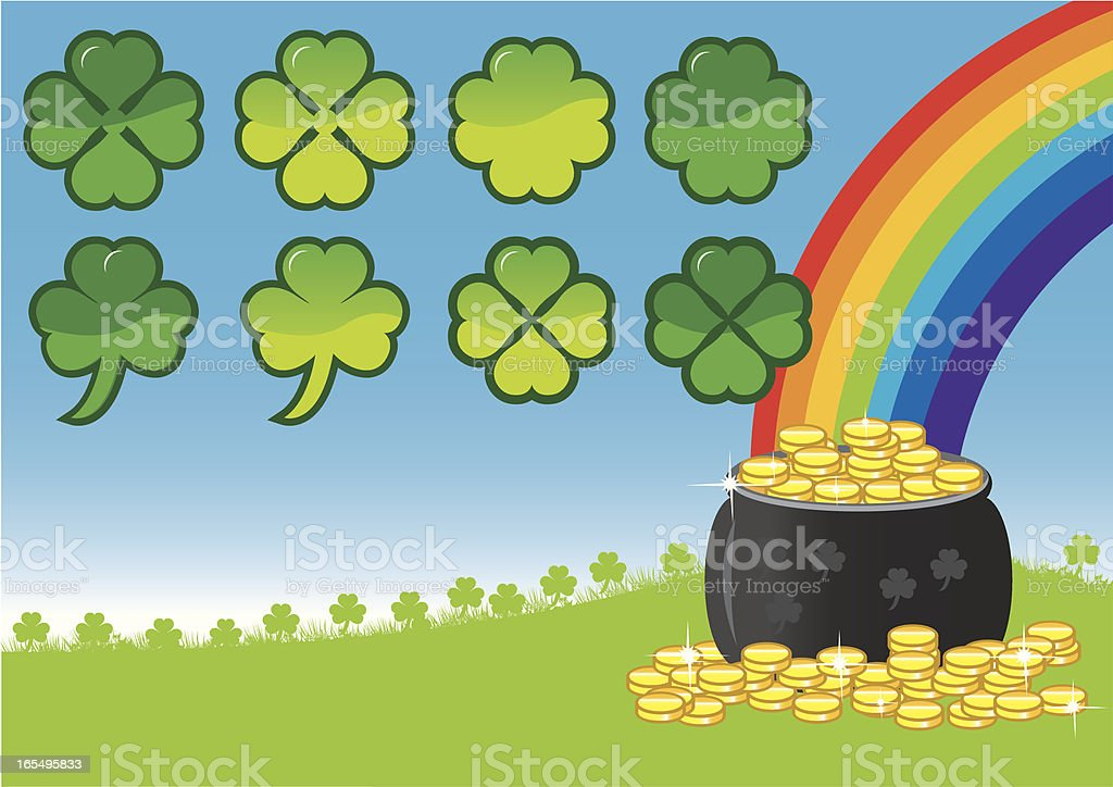 Paddys Day royalty-free stock vector art