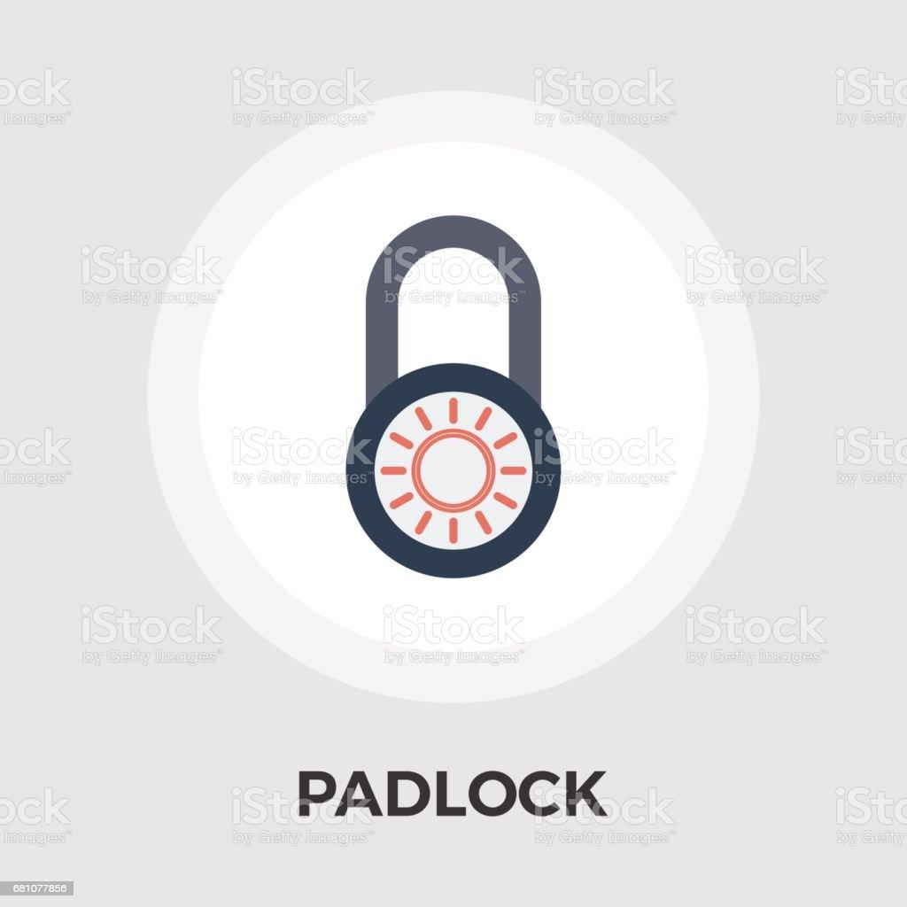 Padlock vector flat icon royalty-free padlock vector flat icon stock vector art & more images of design