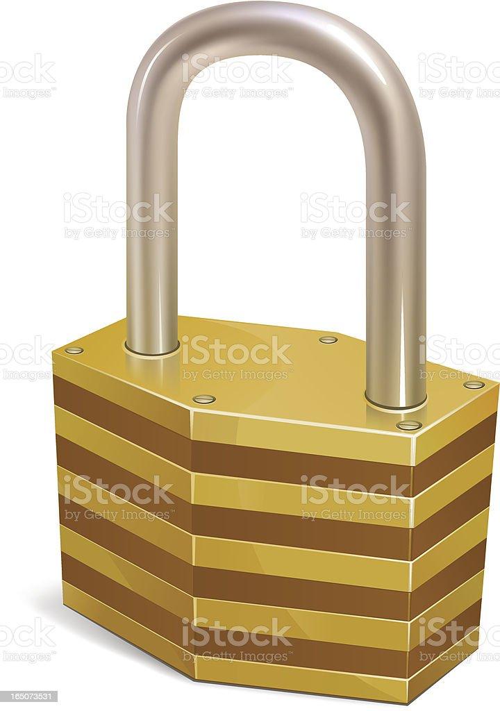 Padlock royalty-free padlock stock vector art & more images of bolt