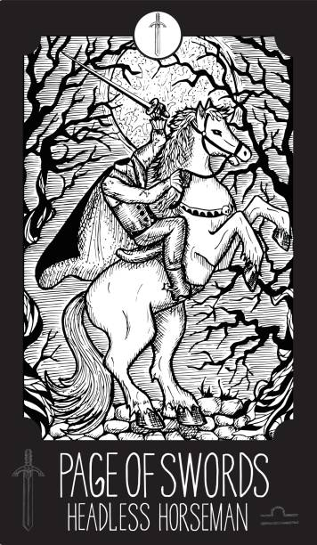 pafge 的劍。無頭騎士 - 被砍頭 幅插畫檔、美工圖案、卡通及圖標
