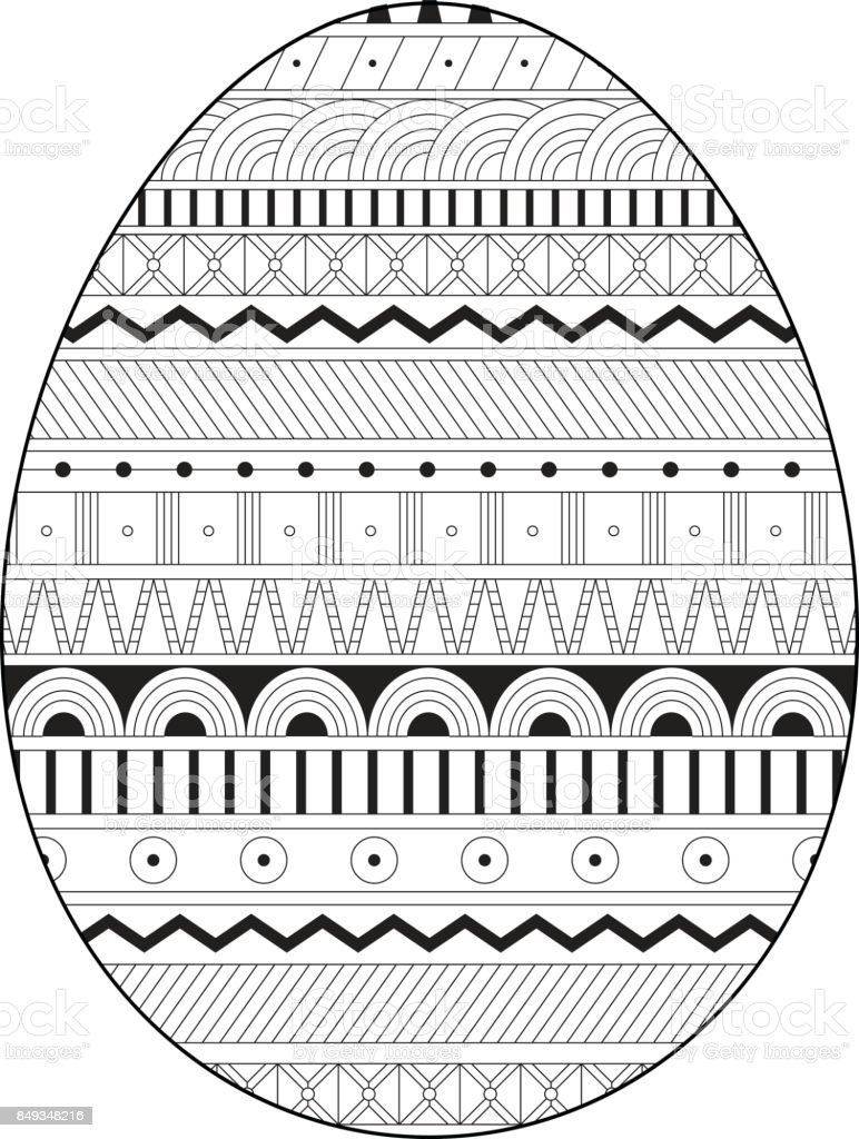 Ukraine egg coloring pages | 1024x772