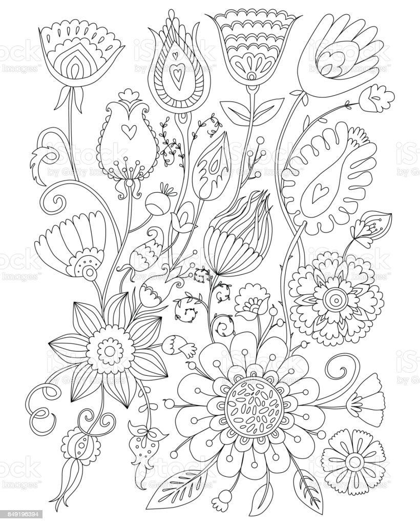 Kleurplaten Voor Volwassenen Kerstmis.Pagina Kleurplaat Voor Volwassenen Kleurplaten Bloemdessin