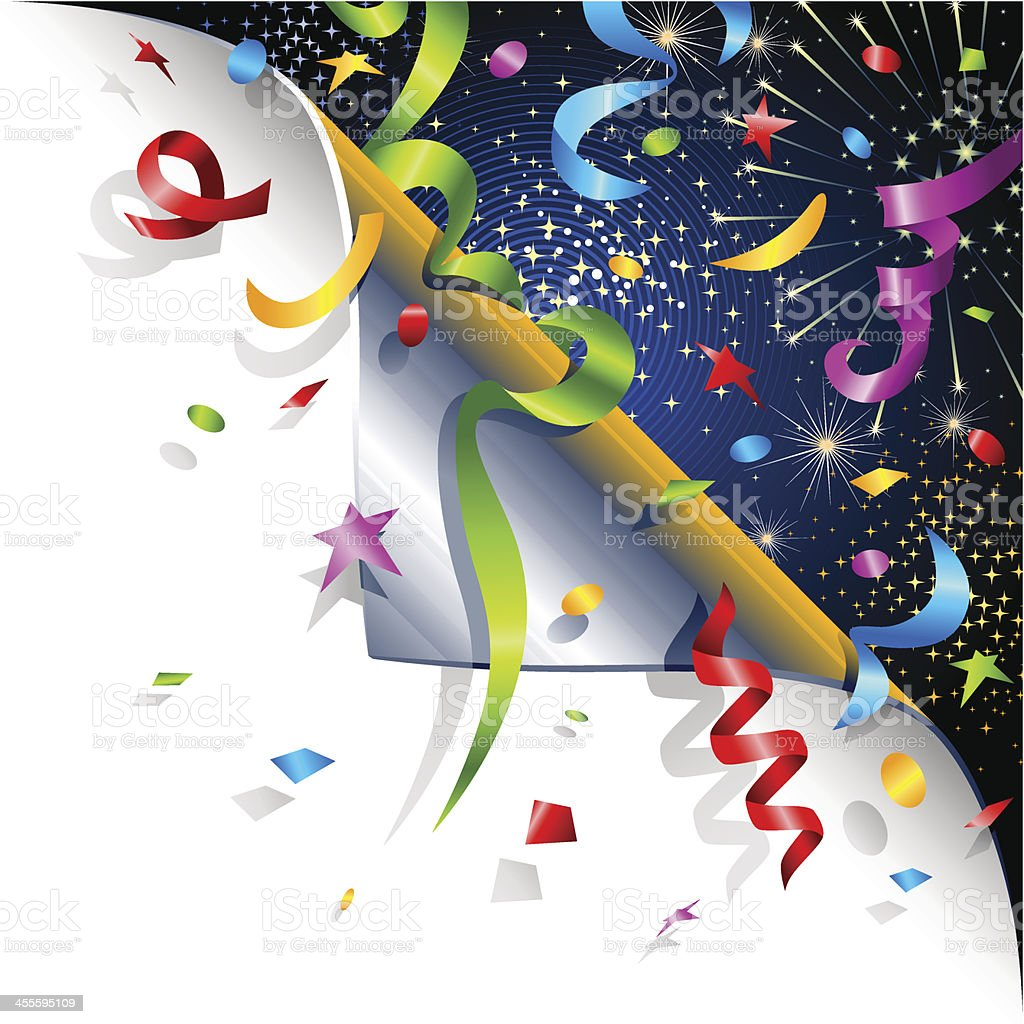 Page Curl - Celebration royalty-free page curl celebration stock vector art & more images of angle