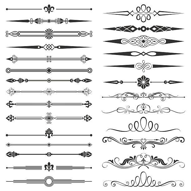 Page compartimenté et des éléments de Design Set - Illustration vectorielle