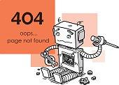Page Not Found Error 404