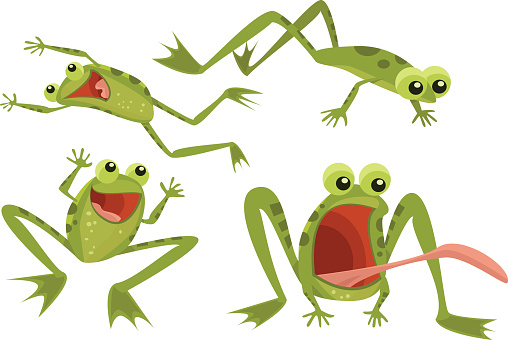 Page of Frogs