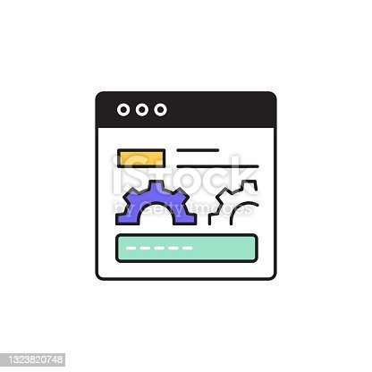 istock Page Performance Editable Stroke Line Icon 1323820748