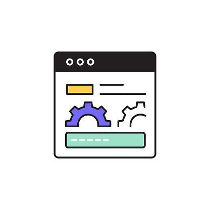 Page Performance Editable Stroke Line Icon
