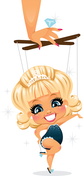 Pageant Girl Stock Illustration - Download Image Now