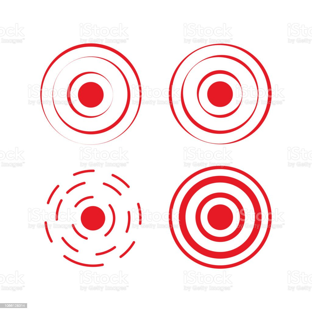 pain red rings to mark icon pain aim health icon pain stock illustration download image now istock https www istockphoto com vector pain red rings to mark icon pain aim health icon pain gm1066128314 285095143