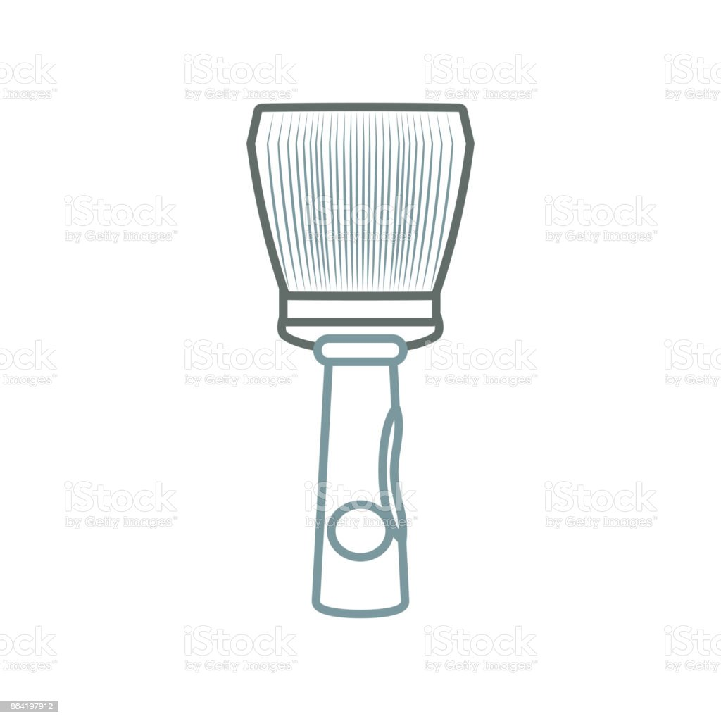 paint brush  vector illustratio royalty-free paint brush vector illustratio stock vector art & more images of acrylic painting