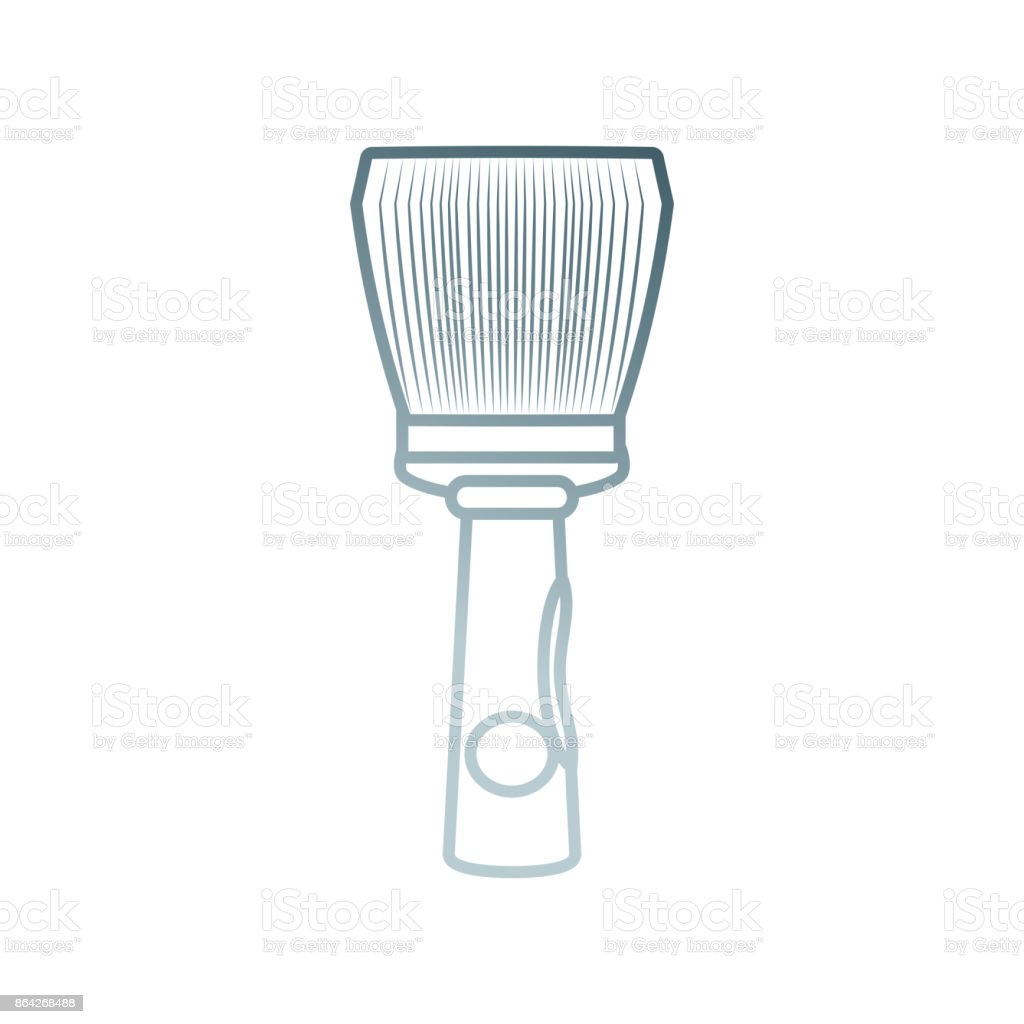 paint brush vector illustration royalty-free paint brush vector illustration stock vector art & more images of animal