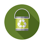 Paint Can Recyclables Icon