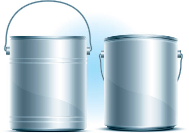 Paint Can Paint Can paint can stock illustrations