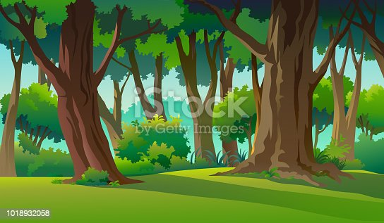 istock Paint illustrations in the wild and natural 1018932058