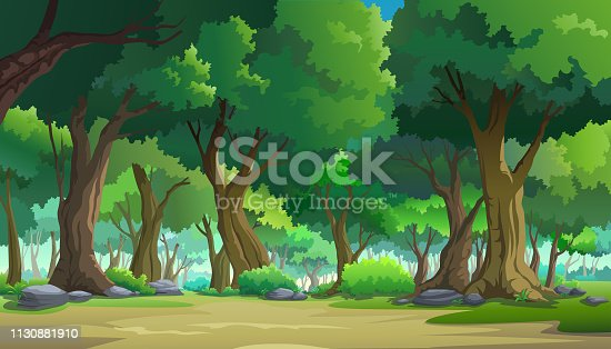 istock Paint illustrations in the wild and natural 1130881910
