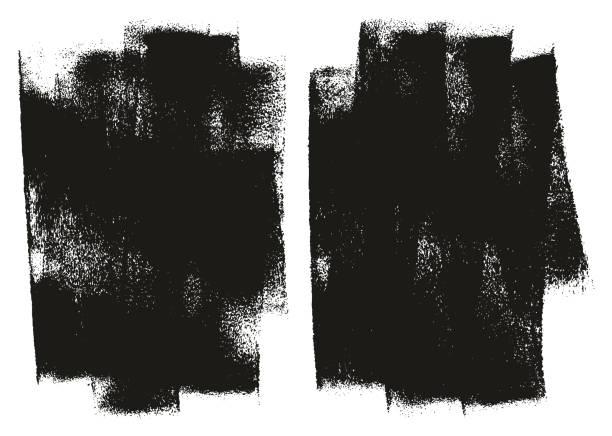 paint roller tło wysoki szczegół abstrakcyjny zestaw tła wektora 132 - erodowany stock illustrations