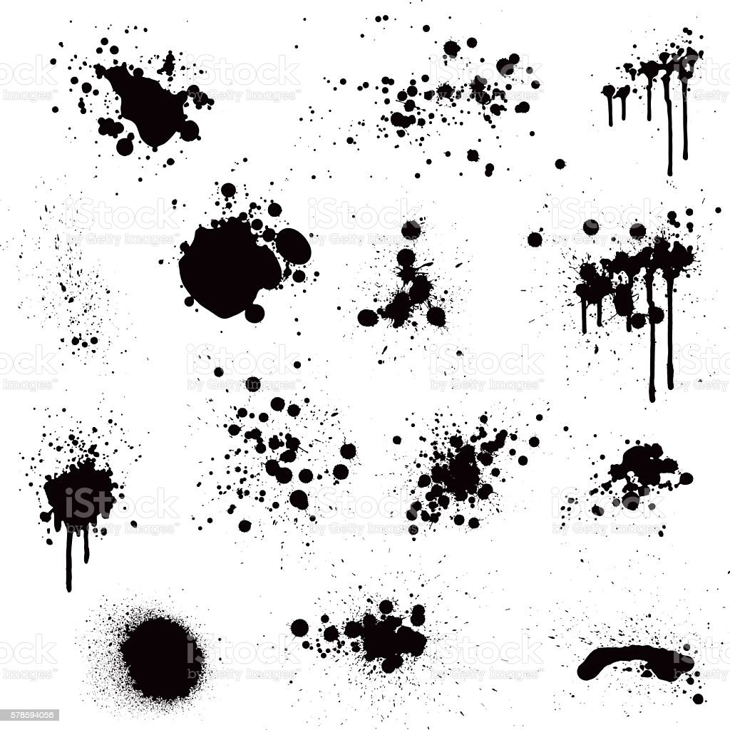 paint splatter stock vector art  u0026 more images of backgrounds