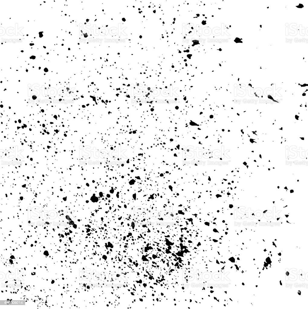 Paint stains vector art illustration