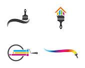 istock Paint vector icon illustration design 1052993308